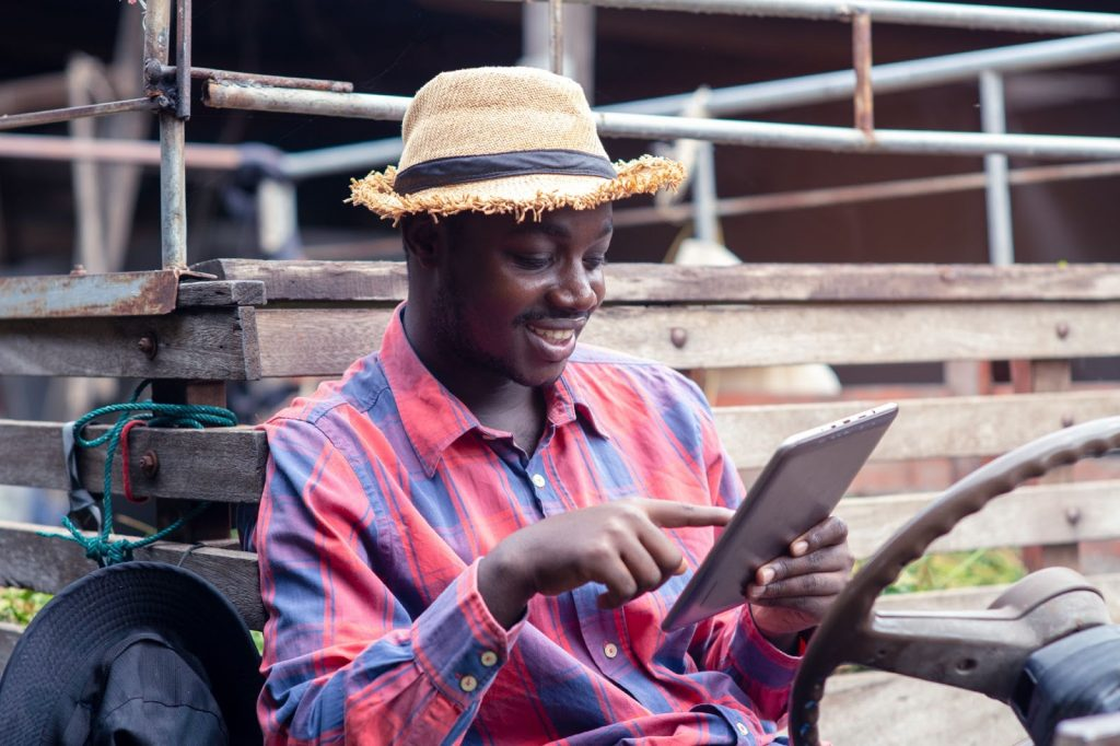 Tech products farmers use - satellite monitoring